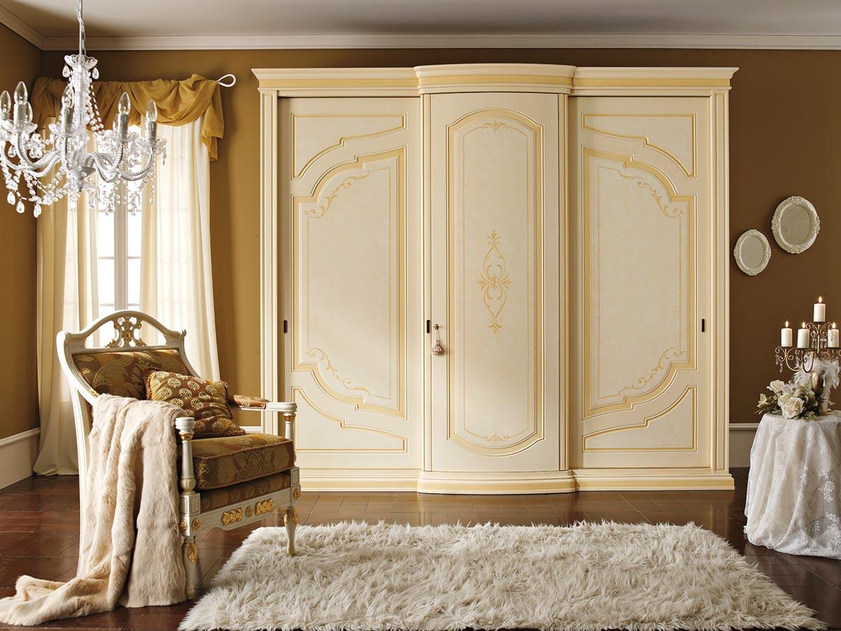 Armadi classici e moderni giusti portos valdera for Armadio camera da letto offerte