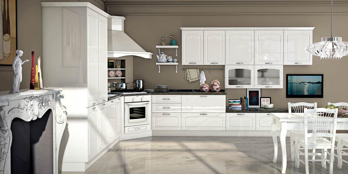 Cucine classiche creo kitchens vismap - Preventivo cucina mondo convenienza ...
