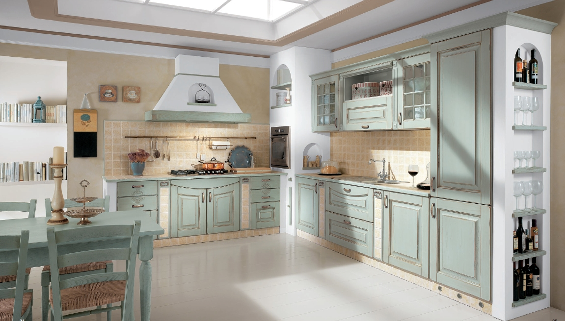 Cucine classiche vismap - Colori per cucine ...