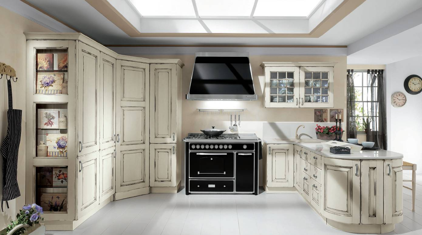 Cucine classiche creo kitchens vismap progettazione for Mobili eva arredamenti