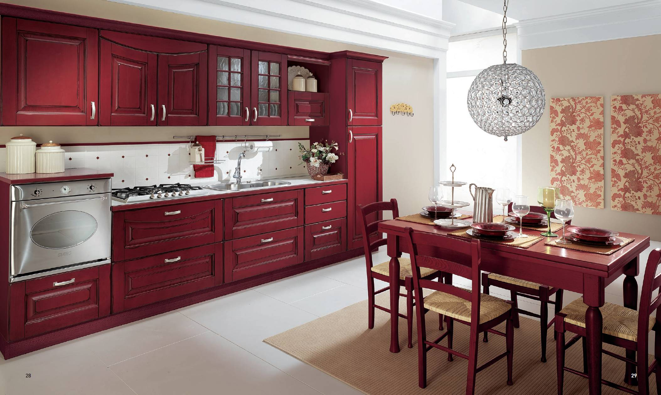 Cucine Classiche #9D2E39 2107 1260 Arredamenti Di Cucine Classiche